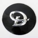 Centre Cap Stick-on Badge - Daimler Logo